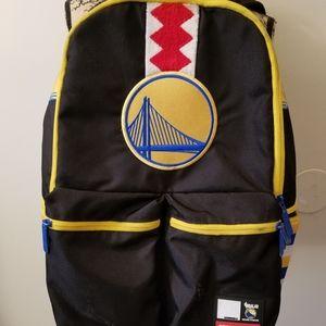 SprayGround NBA Lab Golden Warriors Cargo Backpack